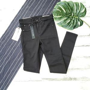 Rag & Bone  10 Inch Skinny Jean Black NWT Size 27